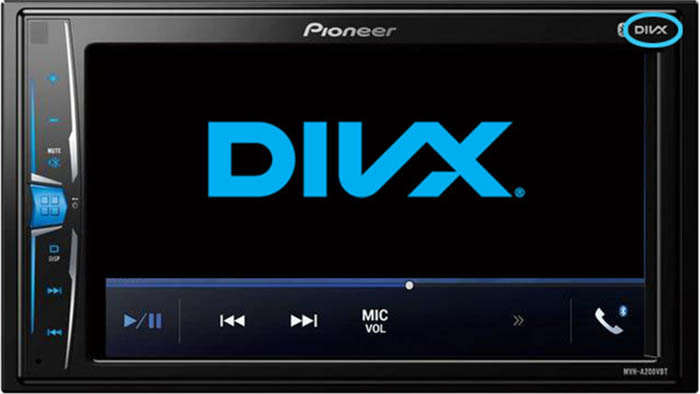 In-Car Playback - DivX Video Software
