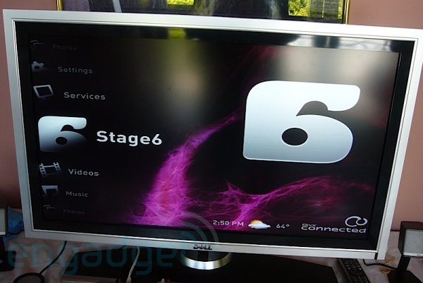 Stage6 on DivX Connected