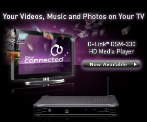 banner for DivX Connected