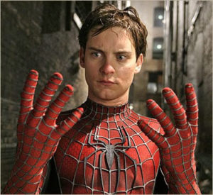 Toby Maguire as Spider-Man