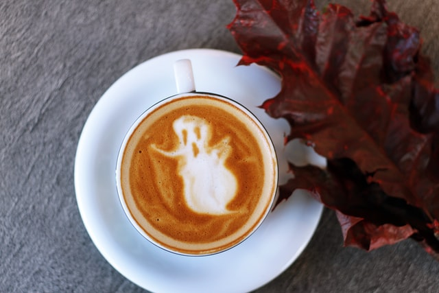 Coffee with ghost